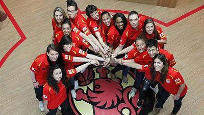 España comienza a preparar el Eurobasket femenino