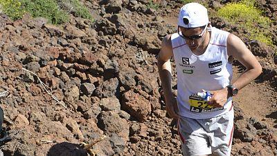Kilian Jornet gana el transvolcánico de La Palma