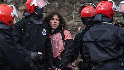 La Ertzaintza detiene en Ondarroa a Urtza Alkorta, condenada por colaborar con ETA
