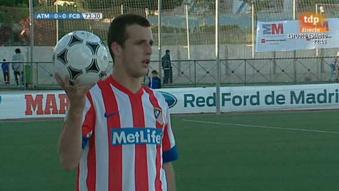 Fútbol - Campeonato del mundo Clubes Sub-17: At.Madrid-FC Barcelona - Ver ahora