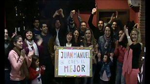 MasterChef - Vídeo de los familiares de Juan Manuel