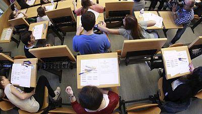 Comienzan los exámenes de selectividad de 2013