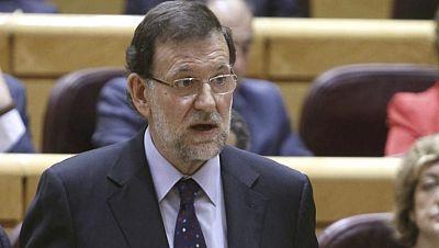 """Rajoy reitera su ofrecimiento al PSOE de """"una posición común"""" ante la UE"""