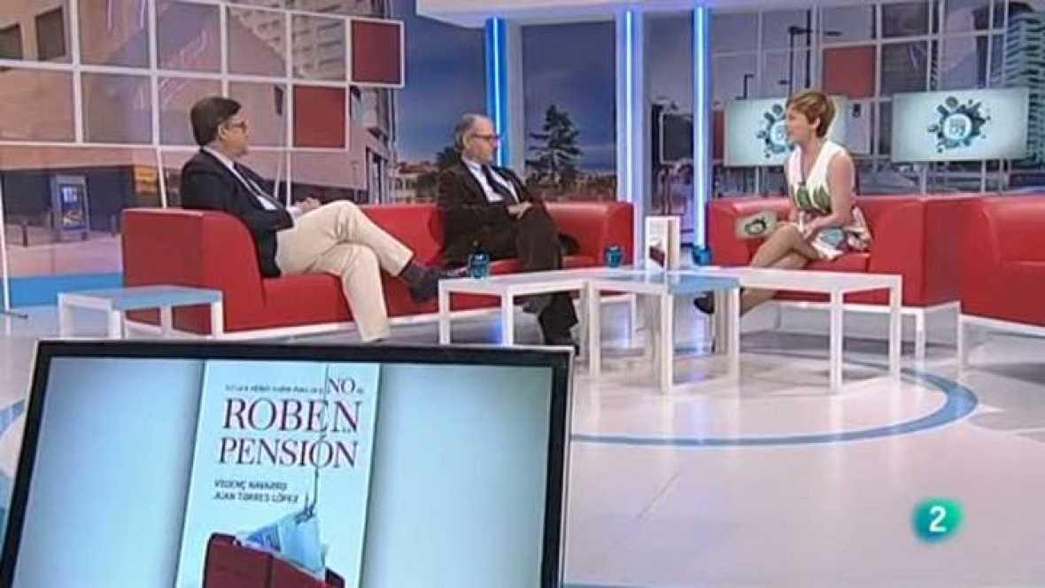 """Para Todos La 2 - Entrevista Vicenç Navarro y Juan Torres: """"Lo que debes saber para que no te roben la pensión"""""""