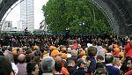 La Orquesta y Coro de RTVE da un concierto para defender su carácter público