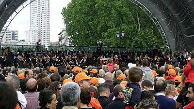 La Orquesta y Coro de RTVE da un concierto para defender su car�cter p�blico