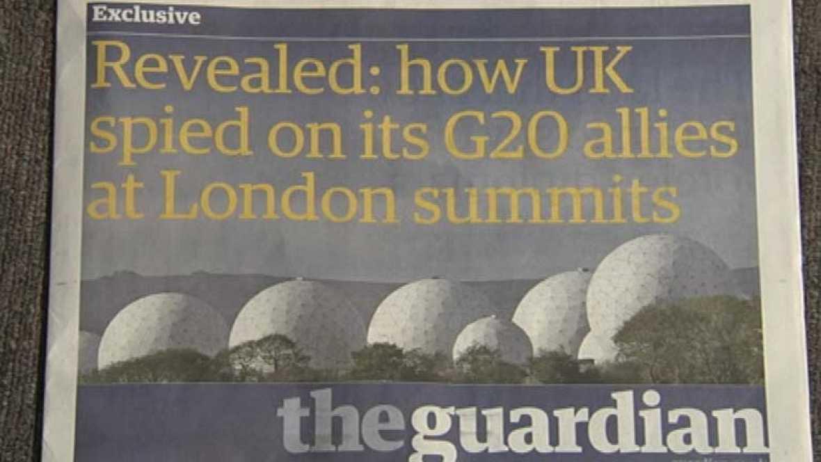 The Guardian publica que en la cumbre del G20 del 2009 se espió a los asistentes