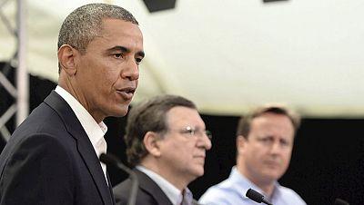 Obama elogia el futuro tratado de comercio entre la UE y EE.UU.