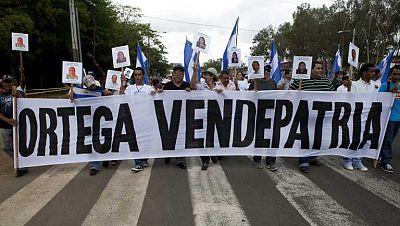 Nicaragua aprueba un canal interoceánico en medio de protestas