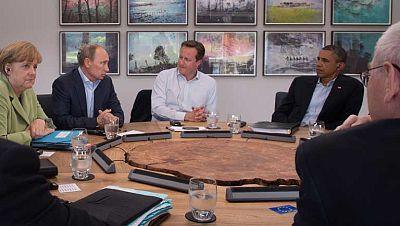 """El G8 presiona para celebrar de una conferencia de paz sobre Siria """"lo antes posible"""""""