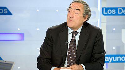 """Rosell: """"Muchos países esconden parados con las pensiones, pero aquí somos muy ingenuos y no lo hacemos"""""""