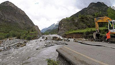 Poco a poco regresa la normalidad a Lleida y Huesca tras las inundaciones
