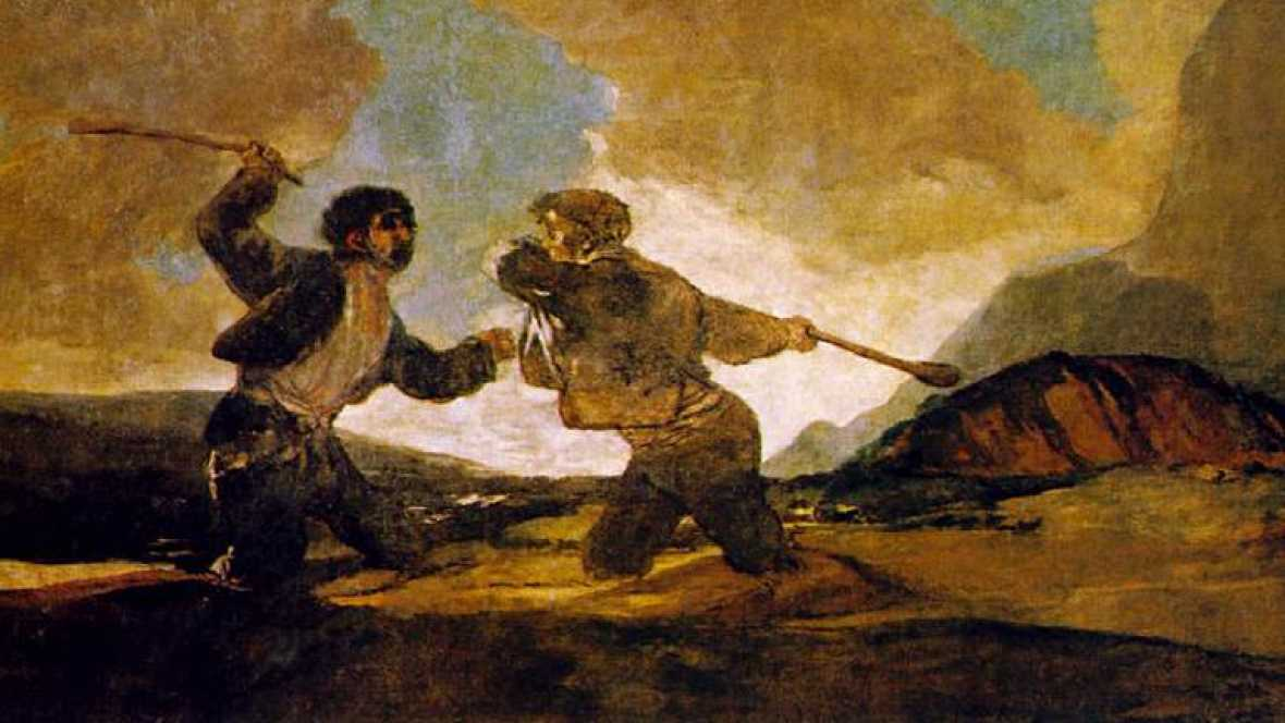 Image result for goya hombre a palos