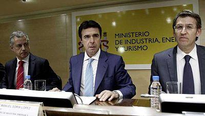 Soria y tres CC.AA. piden una reunión con Almunia por los astilleros