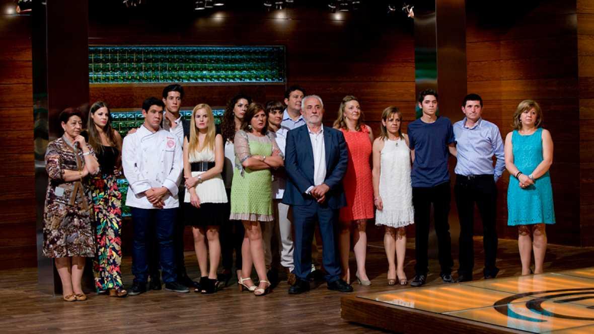 MasterChef - Los familiares de Eva, Fabián y Juan Manuel visitan MasterChef