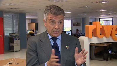 """Juan Antonio Samaranch, miembro del COI, ha repasado para RTVE.es las opciones de la candidatura olímpica de Madrid 2020. """"Estamos muy bien colocados. Estamos donde tenemos que estar; en plena batalla, perfectamente posicionados para tener un buen at"""