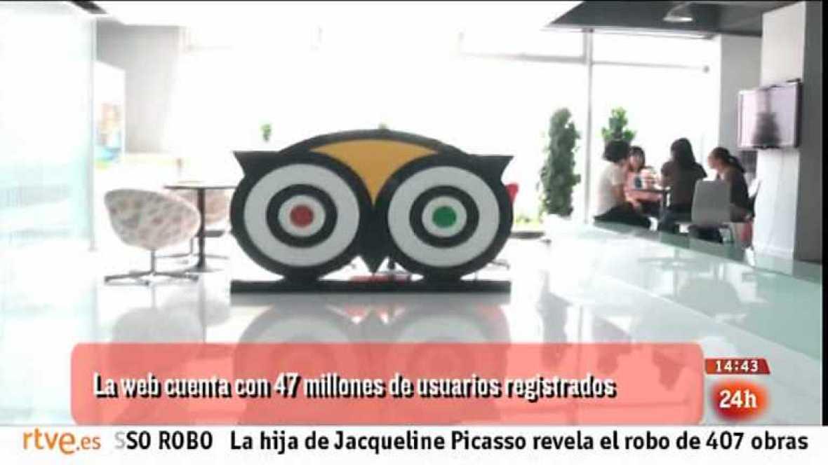 Cámara abierta - TripAdvisor, Cómete Canarias, Proyecto Avizor, Negocios tradicionales en red y Teresa Perales en 1minutoCOM - 13/07/13 - Ver ahora