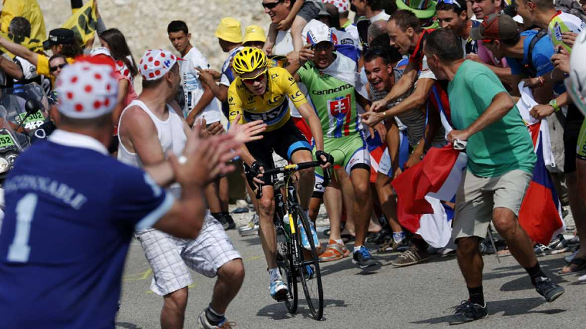 El día que Froome 'desató los vientos' en el Mont Ventoux