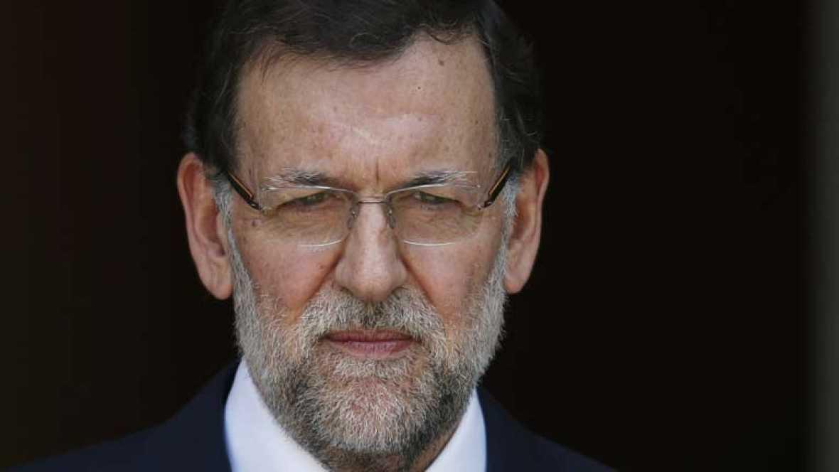 Mariano Rajoy dice que el estado de derecho no se somete a chantaje