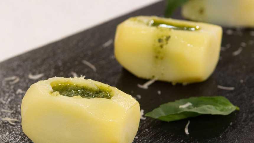 Saber cocinar -  Patatas al pesto