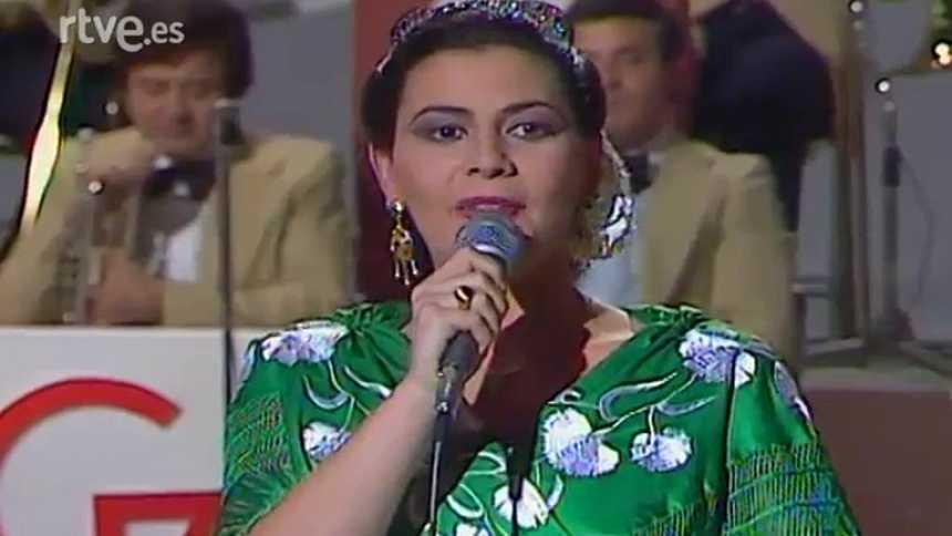 María del Monte en 'Gente joven' (1983)