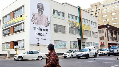 Sudáfrica se prepara para celebrar el Día Mundial de Nelson Mandela