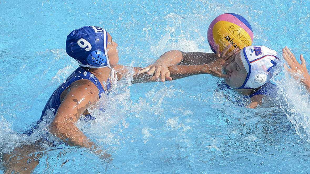 Waterpolo femenino. Fase de grupos: Rusia - Uzbekistán
