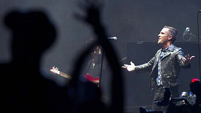 """La banda """"The Killers"""" pone punto y final a cuatro días de conciertos en el FIB"""