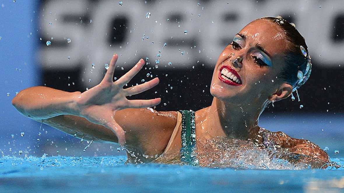 La nadadora española Ona Carbonell ha conseguido el bronce en la final del solo libre con un ejercicio en el que ha homenajeado a la Barcelona olímpica.