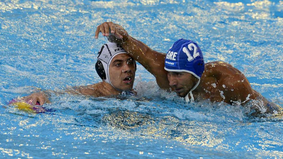 Waterpolo masculino. Fase de grupos: Nueva Zelanda - Grecia