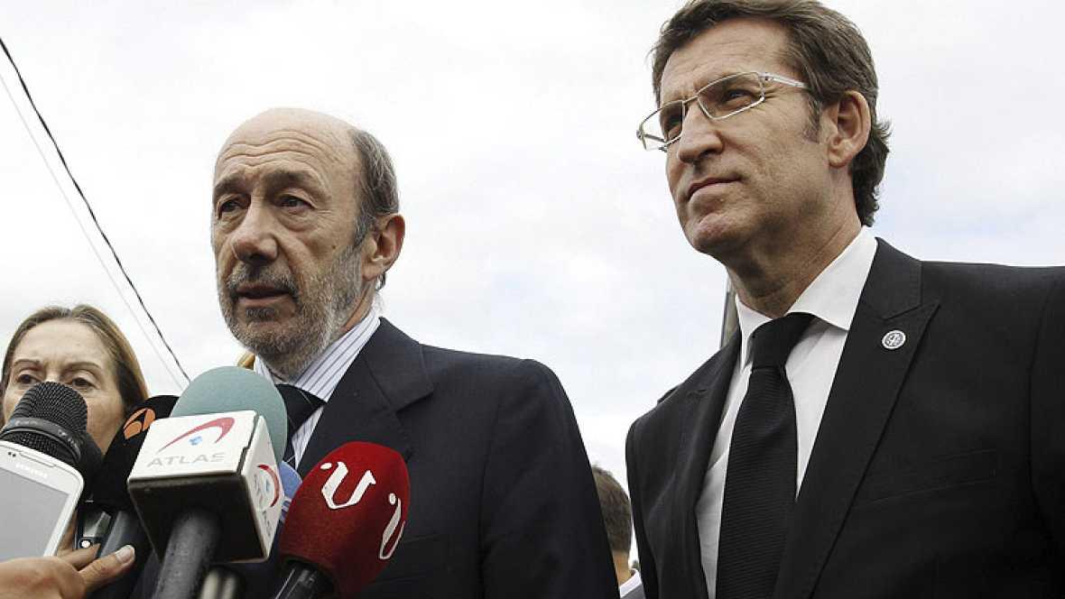 Rubalcaba traslada sus condolencias a familias y víctimas del accidente de tren en Santiago