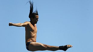 Saltos de gran altura. Preliminar masculino - 29/07