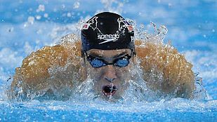 Entrevista a Michael Phelps en Teledeporte