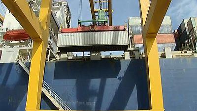 La balanza comercial registró un superávit en mayo de 704 millones de euros