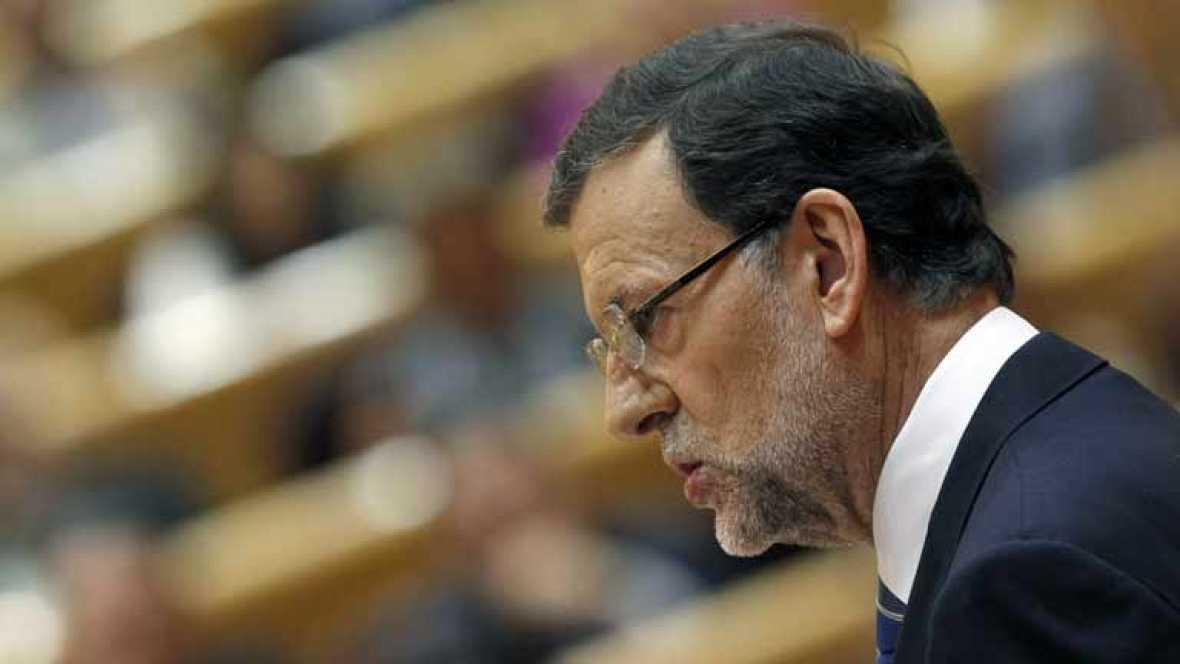 Intervención completa de Mariano Rajoy ante el pleno del Congreso sobre el caso Bárcenas.