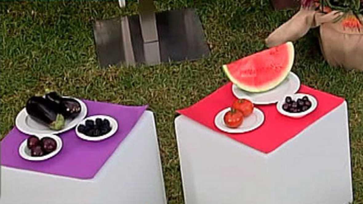 Propuesta de menú para la dieta de los colores