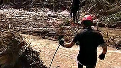 Se retoman las labores de búsqueda del hombre desaparecido en las riadas de Teruel