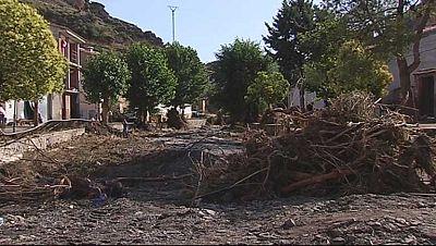 Muchos de los afectados por la riada en Teruel aún no han recuperado el suministro de agua potable