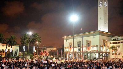 La calle en Marruecos sigue pidiendo justicia para las 11 víctimas de Daniel Galván