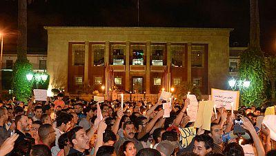 Siguen las protestas en Marruecos