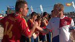 Fútbol playa - Final Liga Europea: España-Holanda