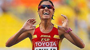 Histórico quinto puesto de Aguilar en Maratón
