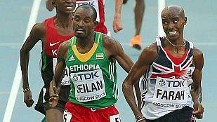 Mo Farah, campeón del mundo de los 10.000