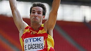 Cáceres, a la final de longitud con un salto de 8,25