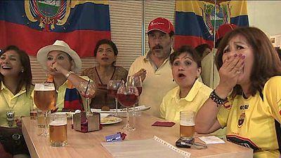El Ecuador-España fue muy importante para Ecuador, ya que se enfrentaba a la campeona de Europa y del Mundo. También fue muy especial para los aficionados ecuatorianos en nuestro país, donde la comunidad ecuatoriana es muy numerosa.