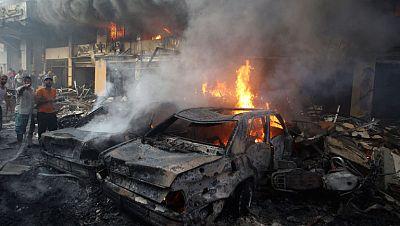 Al menos veinte muertos por un atentado en un feudo de Hizbulá en Beirut