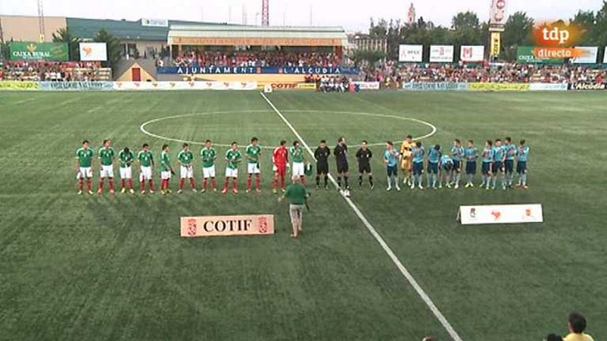 Fútbol - Torneo Internacional Sub-19. COTIF 2013 - España-México