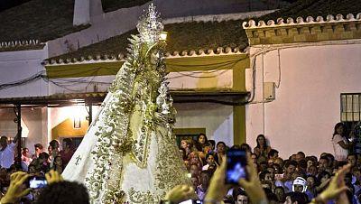 """Procesión extraordinaria de la Virgen del Rocío por el bicentenario del """"Rocío chico"""""""