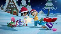 The pop-up christmas calendar