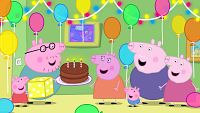El cumpleaños de mamá pig